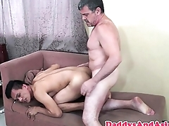 Cocksucked dilf barebacking pinoy ass