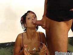 PissingFucking With Gorgeous German Babe