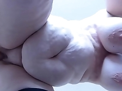 Mature Amateur BBW with Huge Tits Fucked from Behind