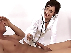 sexy nurse fucks her patient