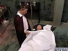 Superb Horny Patient (audrey bitoni) Get Sex Treat From Doctor video-04