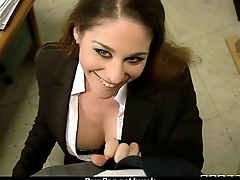 Slutty secretary office surprise 22