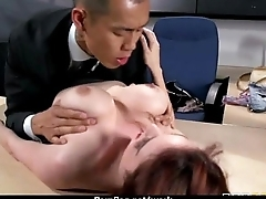 Slutty big tit office worker loves to be dominated at work 29