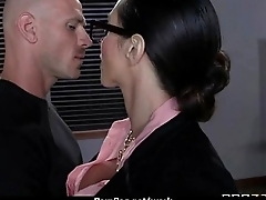 Slutty big tit office worker loves to be dominated at work 25