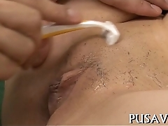 Fat pussy doxy loved fake penis