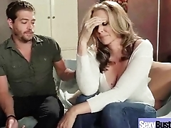 Enduring Intercorse Action With Big Tits Slut Mommy (julia ann) clip-15