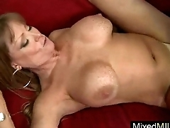 Huge Frowning Cock Stud Ride Hard Style By Slut Milf (darla crane) clip-10