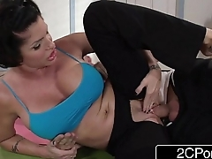 Flexible Yoga MILF Shay Fox Just Wants to Fuck Her New Employee