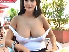 Busty hot wife PublicFlashing.me