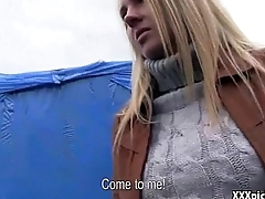 Public Pickup Girl Fucked For Cash In The Street 30