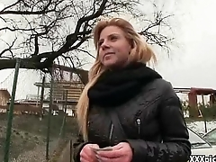 Public Pickup Girl Fucked For Keep faith with The Street 10