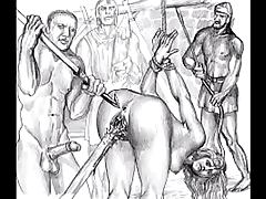 BDSM Porn Artwork Compilation