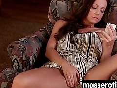 Petite girl gives big boobs lesbian an orgasm to remember 7