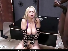 Cuck films his wife getting blacked 25