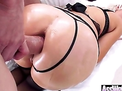 (jenna ivory) Superb Girl With Huge Oiled Butt Take It Deep In Her Ass vid-15