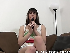 I honour getting violated by a big black cock