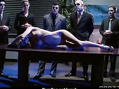 Sexstar secretary analized in the office 7