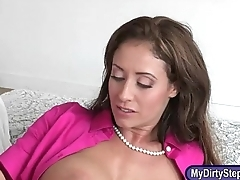 Eva Notty and Kacy Lane shared a cock in transmitted to bedroom