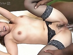 41Ticket - Yui Ayana Fucks Black and Asian Dick in Threesome (Uncensored JAV)