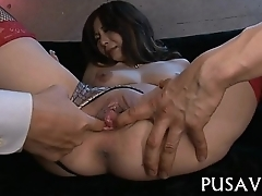 Japanese honey acquires a hard fuck