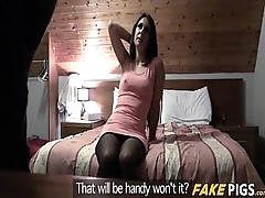 Stranded In Spain Increased by Fucked By Cop - Sophie Garcia Increased by Monty