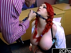 Little Private school Whore Harmony Reigns Gets Proper Big Cock Punishment