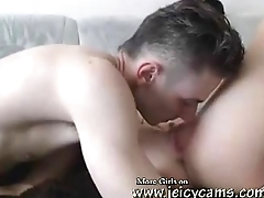 hot Blonde fucks and sucks first of all webcam more- jeicycams.com