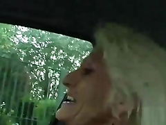 Mature blonde 55 years fucked by Pace Deker