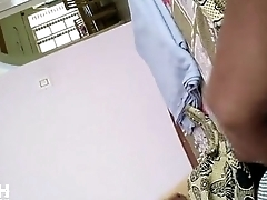 Sheet   indian maid watched me wanking with shorts   UFLASH.TV