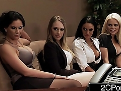 Assignment Orgy - Alexis Ford, Angelina Valentine, Kagney Linn Karter, Phoenix Marie