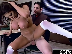 Big Bristols School-Girl August Taylor Gets Her Brains Fucked Out By The Teacher